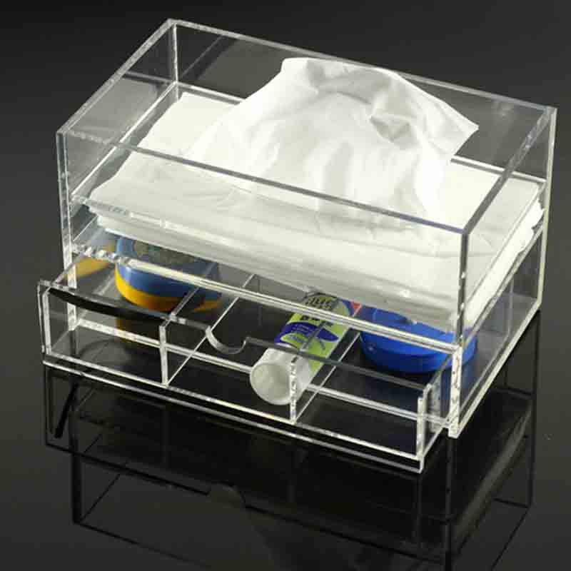 Customized Acrylic Tissue Box