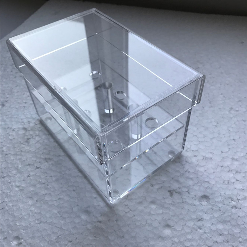 How to make a waterproof plexiglass box