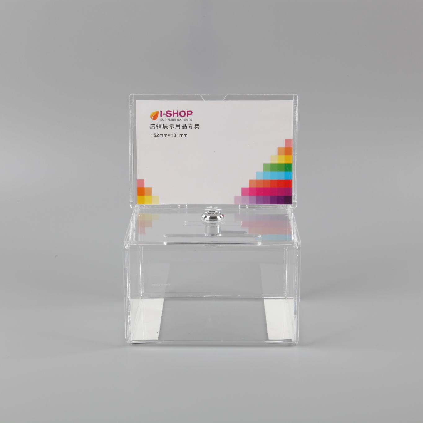 Factory Price Clear Acrylic Ballot Box With Sign Plexiglass