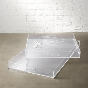 Square Acrylic Tray for Food Grade