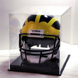 A grade material clear acrylic Helmet display box