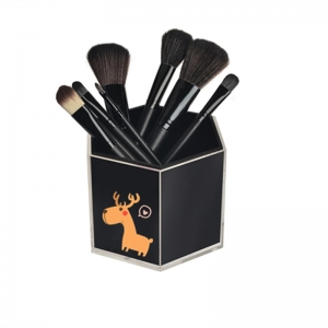 Customized Acrylic Brush Holder with Logo