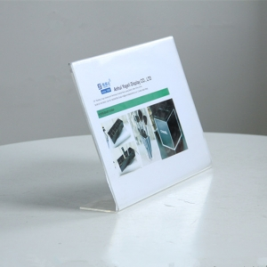Tabletop Perspex Sign Holder Stands