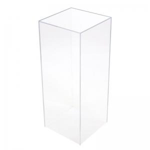 free plexis pedestals cristal pedestal acrylic cubes cube lot support en