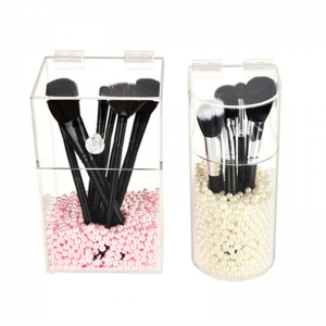 Acrylic Makeup Brush Holder Stand With Available Price