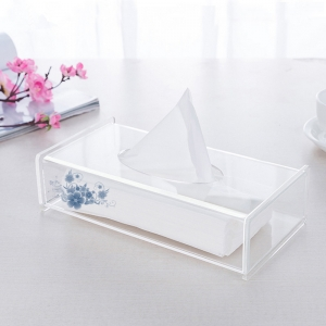 New fashion design Customized Acrylic Napkin Box