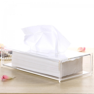 Customized Special acrylic tissue box