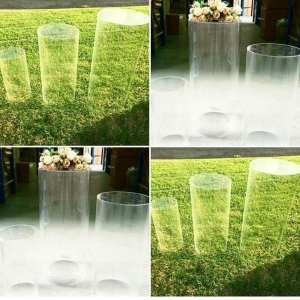 HOT NEW PROPS Clear Acrylic Display Pedestal acrylic Plinth