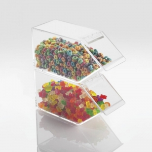 High Quality Acrylic Candy Showcase With Scoop
