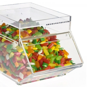 Acrylic candy bin wholesale