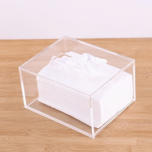 Acrylic custom tissue box