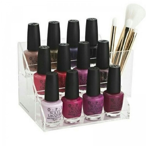 Plexiglass Nail Varnish Holder