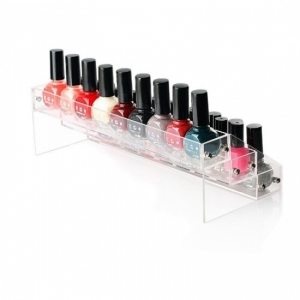 Plexiglass Nail Polish Container Storage