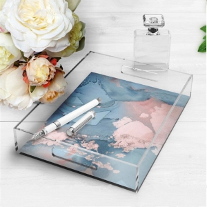Plexiglass serving tray