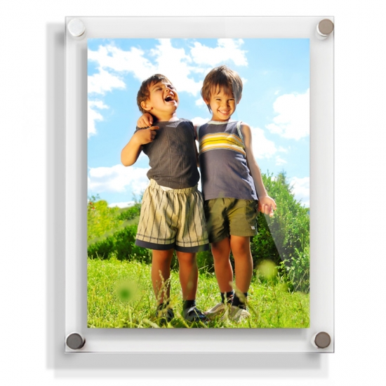 Acrylic Photo Frame Magnetwall Mounted Acrylic Photo Frames