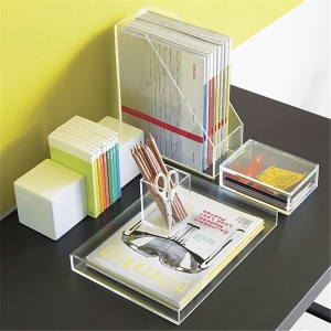 pencil and brochure holder organizers