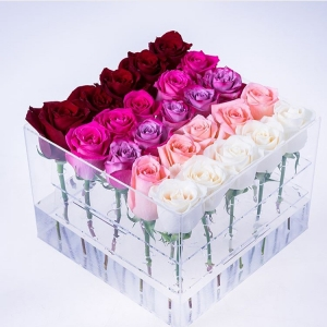 Acrylic Rose Box