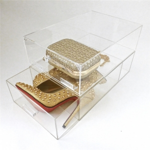 acrylic shoe display box