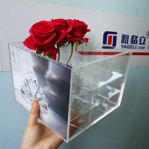 photo album flower gift box