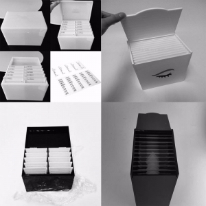 Acrylic Eyeslash Packing Box