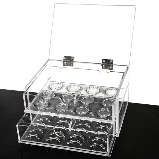 1cc716947d4 Acrylic Lash Storage Box For Cosmetic Eyelashes