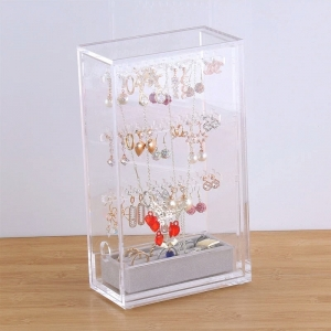 Custom clear acrylic jewelry bangle display box