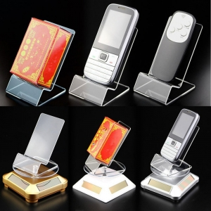 wholesale factory direct sale clear acrylic cellphone dosplay stand
