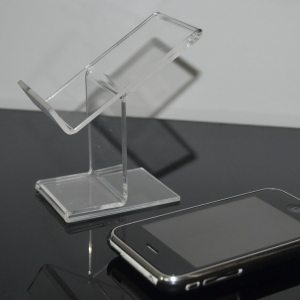 Acrylic cellphone display stand