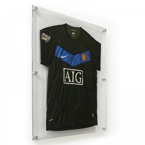 Factory Supply Acrylic Jersey Frame with Customized Sizes and Colors