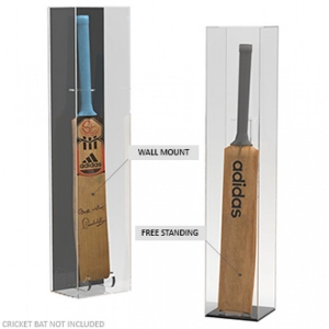 Dustproof Acrylic Cricket Bat Display Case