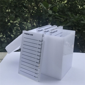 YAGELI acrylic eyelash display box