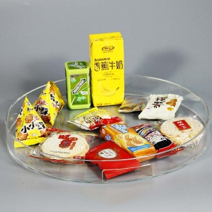 Anhui gold supplier different color acrylic tray
