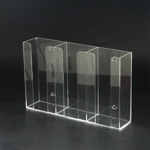 Acrylic Glove Box Holder