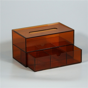 Color Acrylic Tissue Box