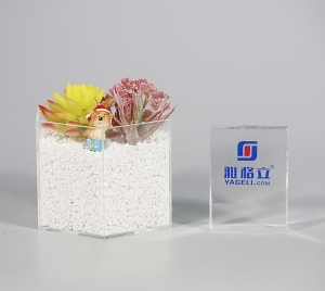 Acrylic Perspex Planter Pot