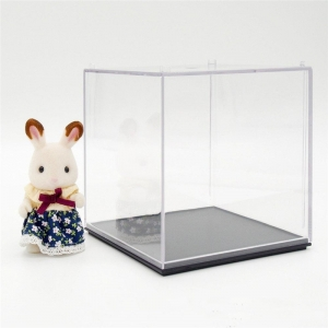 custom acrylic doll display case