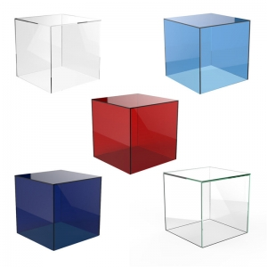 acrylic collection boxes