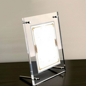 acrylic picture frames holder stand display