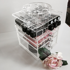 Acrylic Makeup Lipstick Drawer