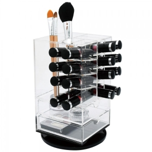 rotating acrylic lipstick display stand
