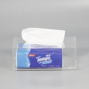 acrylic tissue box suppliers