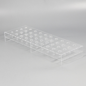 acrylic tube display stand