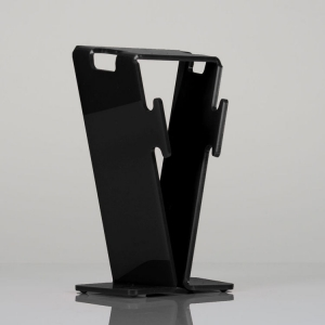 Acrylic headphone stand / headset holder