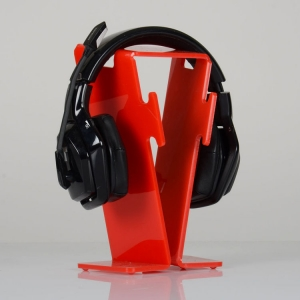Acrylic headphone stand