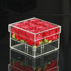 acrylic flower boxes wholesale