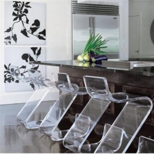acrylic furniture chair