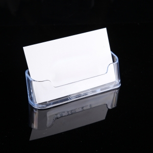 Small plexiglass card case