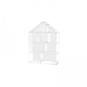 acrylic house bookcase