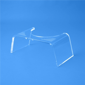 Plexiglass slim ghost stool