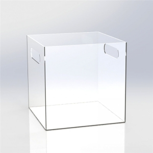 Perspex vinyl record display case